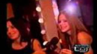 Avril Lavigne & Chantal Kreviazuk