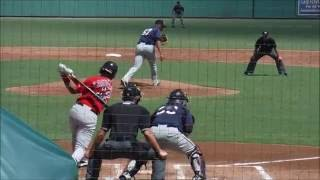 Minnesota Twins prospect Fernando Romero pitching in Instructional League on 9/23/2016