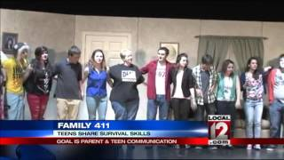 Family 411: Dead Serious About Life, teens share survival skills
