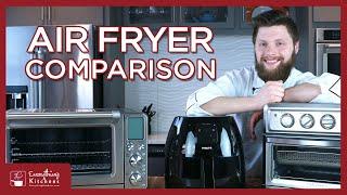 Best Air Fryers - Cuisinart Air Fryer VS Phillips Air Fryer XL VS Breville Smart Oven Air Fryer