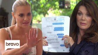 Lisa Vanderpump Shows Dorit Kemsley Teddi's Texts   The Real Housewives of Beverly Hills   Bravo