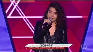 The Voice Brasil Kids - Moving On - Asking Alexandria (Cover - Lucia Muniz)