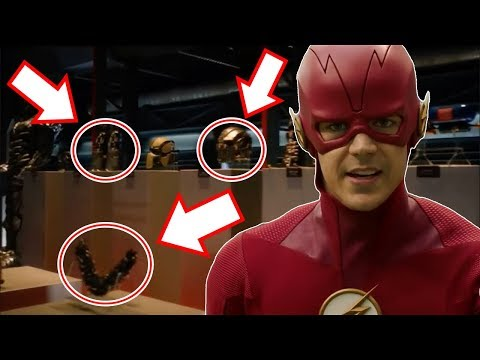 EVERYTHING That Was Inside of The Flash Museum! - The Flash Season 5