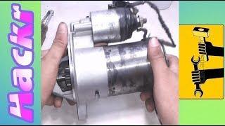 DIY: How To Rebuild A Starter Motor!! ( Reparación De Burros O Arranque )