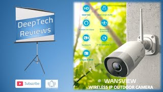 Wansview (W5)  Wireless Cloud IP Outdoor Camera