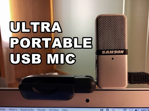 SAMSON USB Portable Go Mic - Unboxing & First Look!