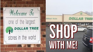 Epic Shop With Me In The LARGEST DOLLAR TREE IN THE US!!