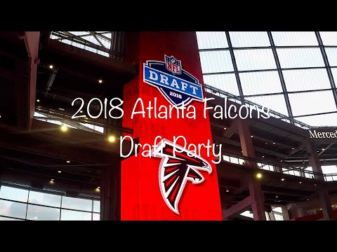 Atlanta Falcons 2018 Draft Party