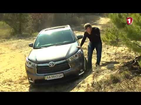 Toyota  Highlander Паркетник класса J - тест-драйв 1