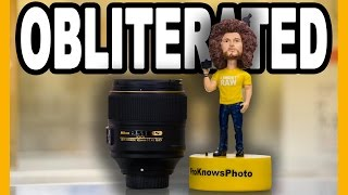 Nikon 105mm f/1.4E ED Lens Unboxing / Sample Images: The Background Gets OBLITERATED