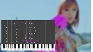 2NE1 - Happy (Piano)