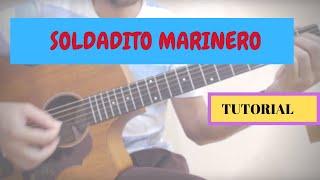 """Cómo Tocar """"Soldadito Marinero"""" (Fito) Con La Guitarra"""