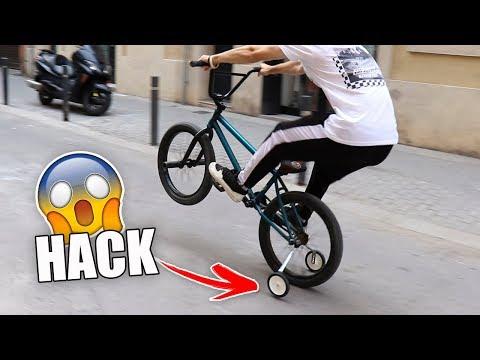 LE PONGO RUEDINES A MI BMX - EL HACK DEFINITIVO