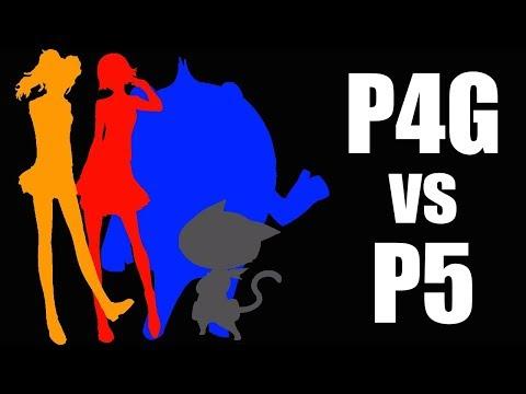 Persona 4 Golden vs. Persona 5 - ZaffreRevolution