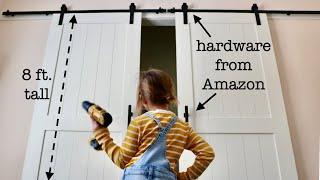 Easy Barn Doors For A Bedroom Closet