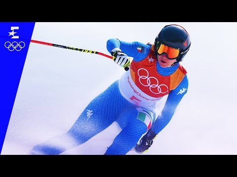 Alpine Skiing | Ladies' Downhill Highlights | Pyeongchang 2018 | Eurosport