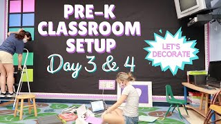 CLASSROOM SETUP DAY 3 & 4 | 2020-2021 | WE STARTED DECORATING