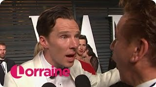 Бенедикт Камбербэтч, Benedict Cumberbatch Forgets He's Married | Lorraine