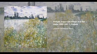 Prelude, Fugue and Allegro in E-flat major, BWV 998