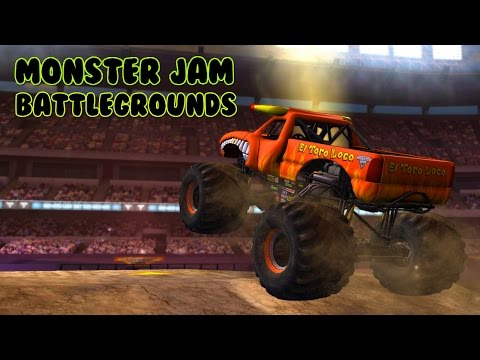 Gameplay de Monster Jam Battlegrounds