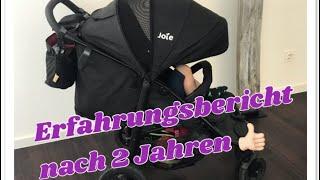 Joie Litetrax 4 air Erfahrungsbericht nach 2 Jahren Buggy Kinderwagen Test deutsch