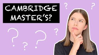 REVEALING MY FUTURE PLANS - Rejoining Cambridge University For A Fourth Year?