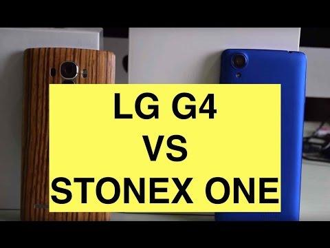 LG G4 vs Stonex One