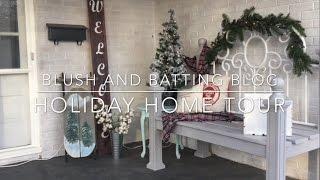 Holiday Home Tour 2016 | Blush And Batting Blog