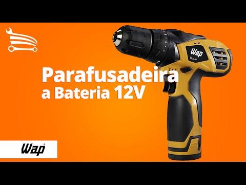 Parafusadeira / Furadeira a Bateria de Li-íon 12V Bivolt - Video