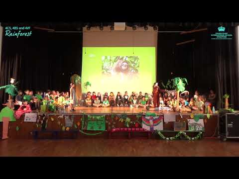 Upper Primary Assembly - Rainforest by 4CS, 4BS and 4VF