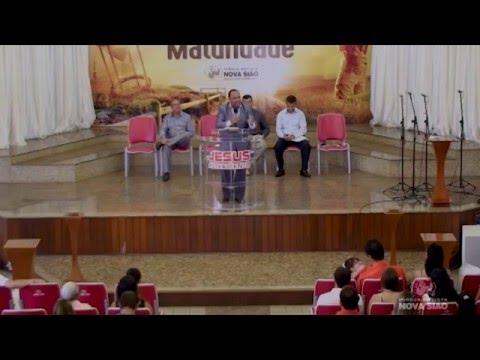 Ap. Edílson Culto Domingo Manhã Dia 07/02/16 (Restaurados por uma promessa – Sofonias 3:9-20)