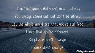 Different   James TW (lyrics)