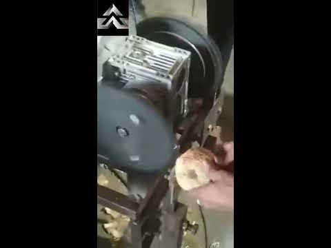 Coconut Deshelling machine