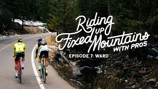 Riding Fixed Up Mountains with Pros: Toms Skujins