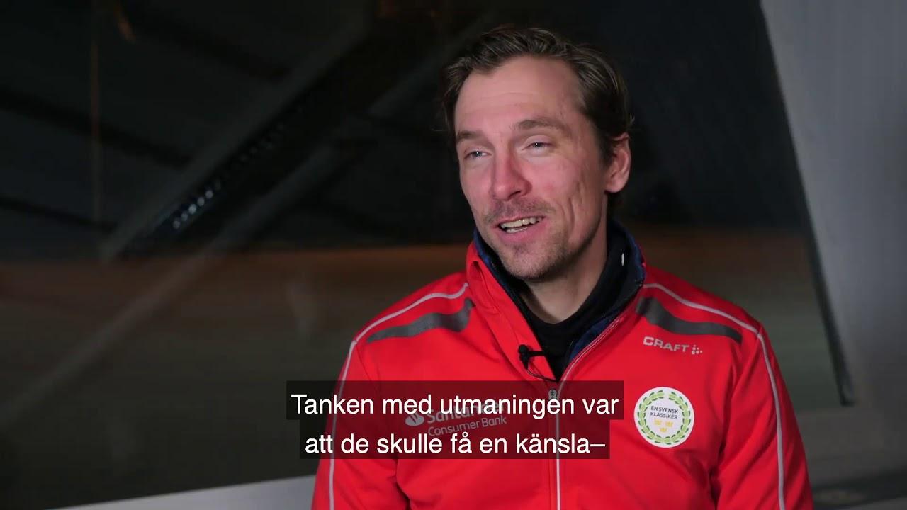 AVSNITT 3 – Våra deltagare fick sig en svettig utmaning när skidlegendaren Johan Olsson bjöd in till skidläger inför det 90 kilometer långa Öppet spår.