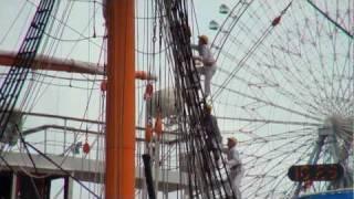 帆船日本丸・総帆展帆