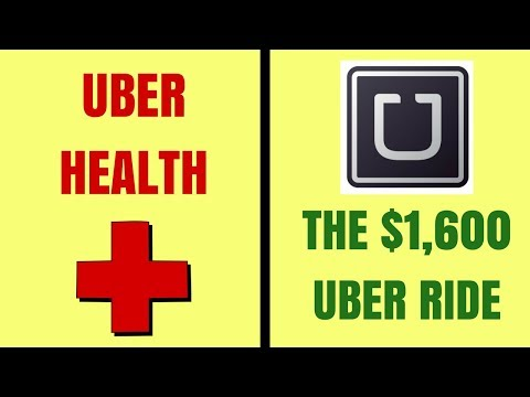 The $1,600 Uber ride, and Uber takes on Health transportation