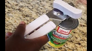 Hack 101   How to Use a Hand Can Opener! 🙄