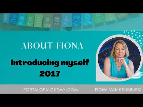 Introduction to Fiona van Rensburg