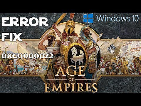 How to Fix Stronghold Crusader Windows 10 (0xc0000022 error