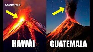 ¿POR QUÉ es TAN DIFERENTE LA ERUPCIÓN en GUATEMALA que la de HAWÁI?