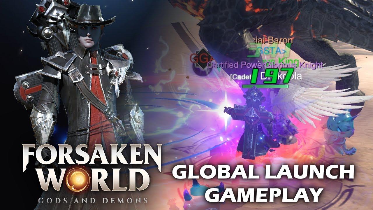 Forsaken World: Gods and Demons e' un nuovo MMORPG per mobile lanciato in tutto il mondo