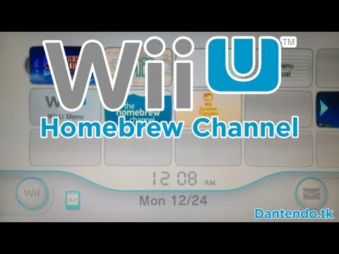 homebrew channel wii u