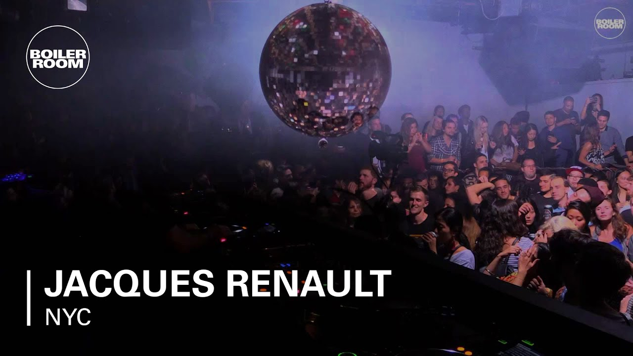 Jacques Renault - Live @ Boiler Room NYC x FIAT Imports 2015