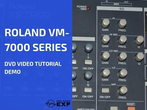 ^~ Watch Full Roland VP-9000 DVD Video Training Tutorial Help