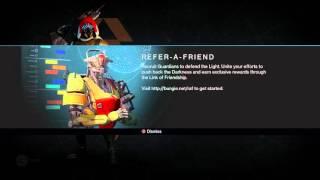 Destiny: Refer a Friend Quest Help Me Out ! (Please Watch)
