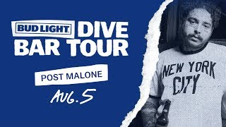 Bud Light Dive Bar Tour With Post Malone   New York