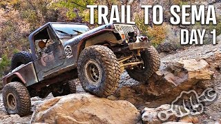 JEEPING 21 ROAD TRAIL to SEMA 2018 EP1