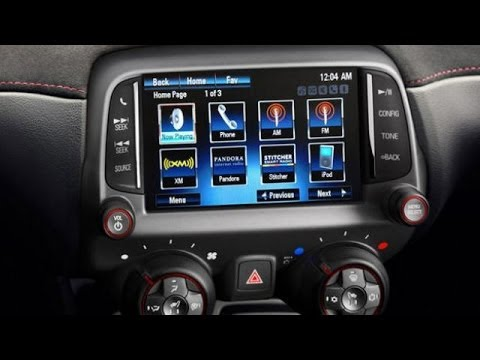 Chevy MyLink System Review from a Camaro ZR1