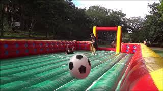 Futebol de Sabão Inflável
